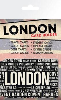 Card holder London - Areas