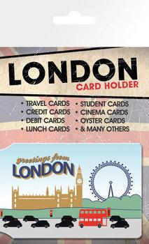 Card holder London - Greetings