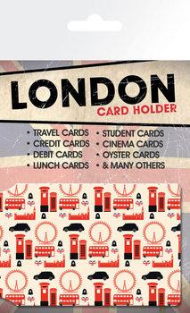 Card holder London - Pattern