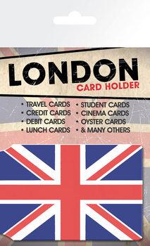 Card holder London - Union Flag