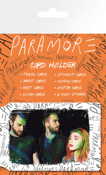 PARAMORE - group Card Holder