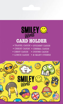 Card holder Smiley World - Pattern