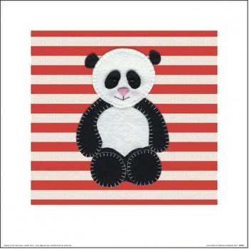 Catherine Colebrook - Panda Reproduction d'art