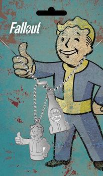 Chapa de identificação Fallout - Nuka Pendant