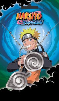 Chapa de identificação Naruto Shippuden - Hidden Leaves Pendant