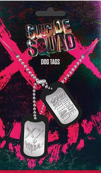 Chapa de identificação Suicide Squad - Logo