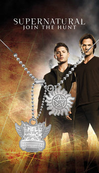 Chapa de identificação Supernatural - Hell And Back Pendant