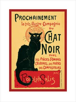 Chat Noir  Reproduction d'art