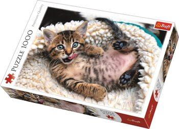 Palapeli Cheerful Kitten