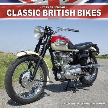 Calendar 2021 Classic British Bikes