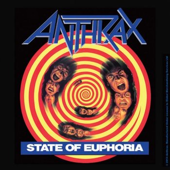 Anthrax - State Of Euphoria Coaster