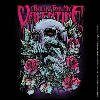 Bullet For My Valentine - Spenc Skull Red Eyes Coaster