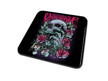 Bullet For My Valentine - Spenc Skull Red Eyes Coaster