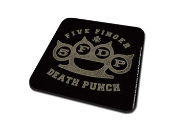 Five Finger Death Punch – Brass Knuckle Coaster