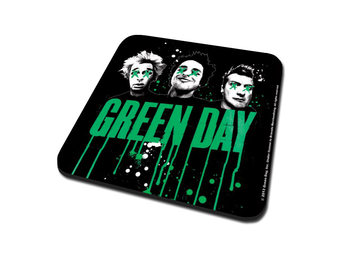 Green Day - Drips Coaster