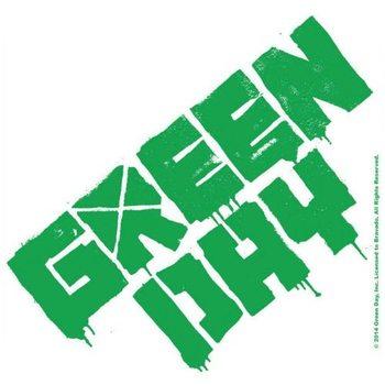 Green Day – Logo Coaster