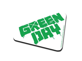 Green Day – Logo Coaster