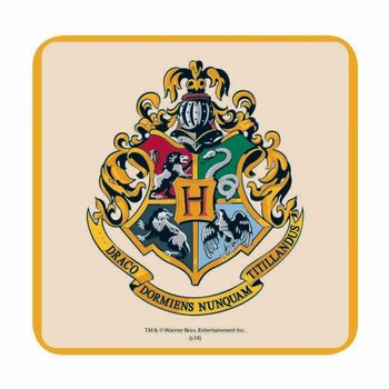 Harry Potter - Hogwarts Crest Coaster