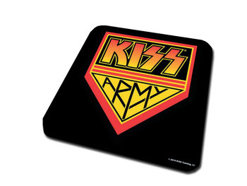 KISS -  Army Pennant Coaster