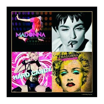 Madonna – Album Montage Inc Hard Candy & Celebration Coaster