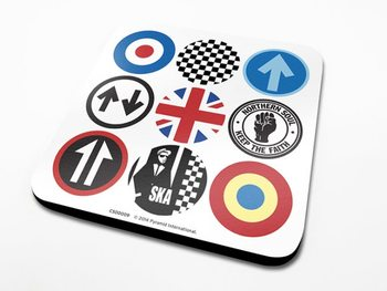 Mod and Ska Icons  Coaster