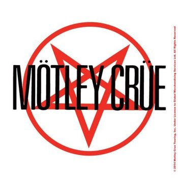 Motley Crue – Shout At The Devil Logo Coaster
