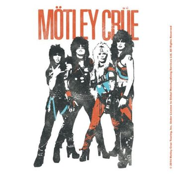 Motley Crue – Vintage World Tour Coaster