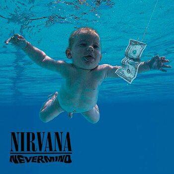 Nirvana -  Nevermind Individual Cork Coaster
