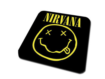 Nirvana – Smiley Coaster