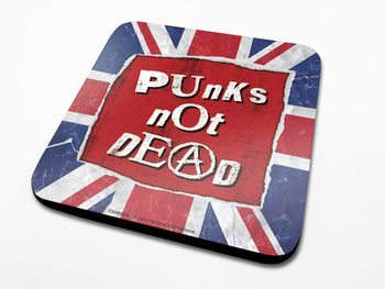 Punk's Not Dead Coaster