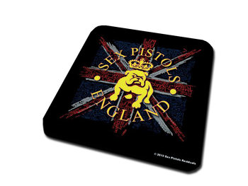 Sex Pistols – Bulldog & Flag Coaster