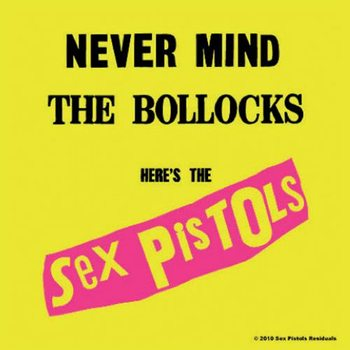 Sex Pistols – Never Mind The Bollocks Coaster