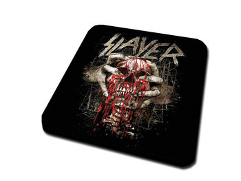 Slayer – Skull Clench Coaster