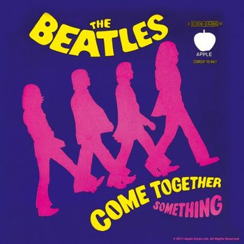The Beatles – Come Together/Something Purple Coaster