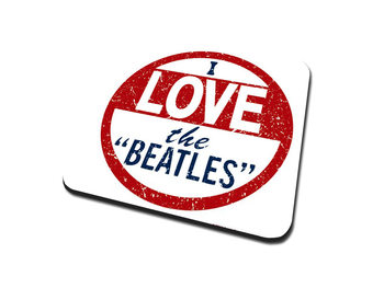 The Beatles – I Love The Beatles Coaster