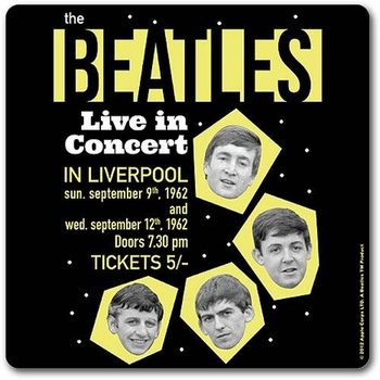 The Beatles - Live In Concert Coaster