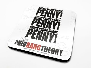 The Big Bang Theory - Knock  Coaster