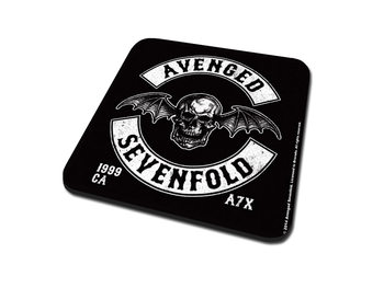 Coaster Avenged Sevenfold - Deathbat Crest