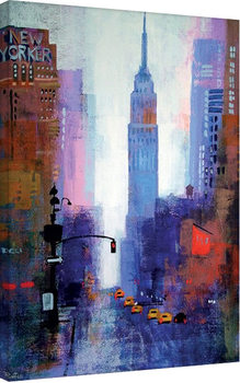 Colin Ruffell - Manhattan Empire State Canvas Print
