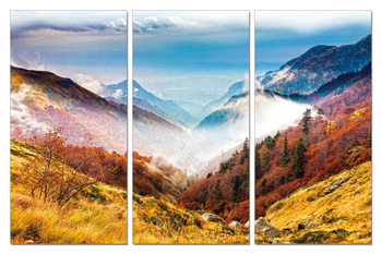 Colorful Landscape Tableau Multi-Toiles