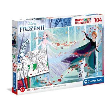 Puzzle Coloring Puzzle 2 - Anna & Elsa & Olaf