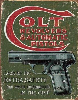COLT - extra safety Plaque métal décorée