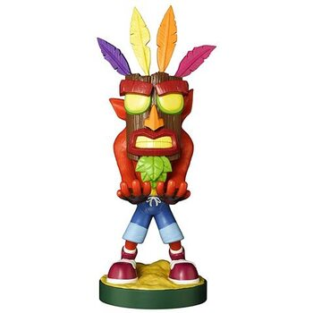 Figura Crash Bandicoot - Crash Aku (Cable Guy)