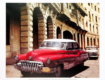 Cuban Cars I Reproduction d'art