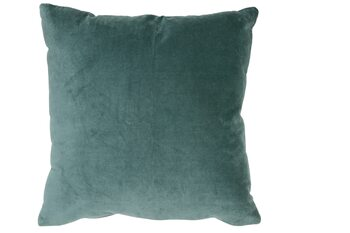 Bed linen Cushion Khios -  Velvet Ocean Blue