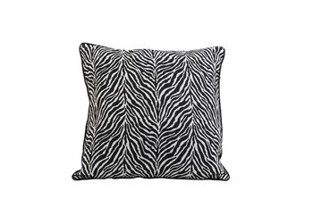 Bed linen Cushion Zebra - Black-White