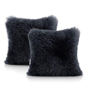 Pillow cases Amelia Home - Dokka Black
