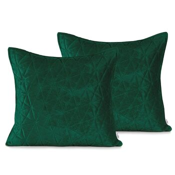Pillow cases Amelia Home - Laila Bottlegreen + Jadegreen