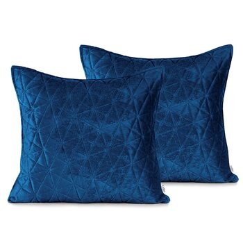 Pillow cases Amelia Home - Laila Royal Blue