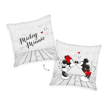 Cushion Mickey Mouse & Minnie - Kiss